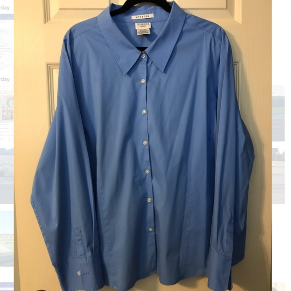 George Tops - George Woman Stretch Classic Button Down Shirt